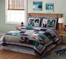 Surfing USA Quilt Set by My World