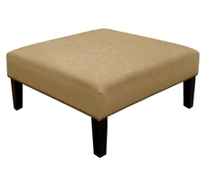 Nail Button Cocktail Ottoman