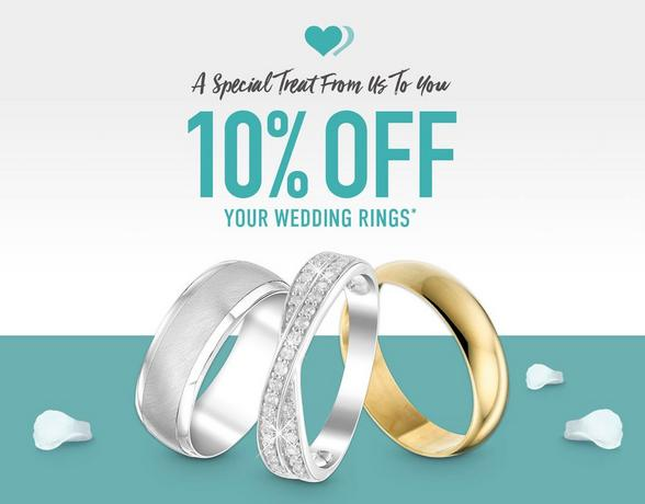 10% Off Your Wedding Rings - Find Out More