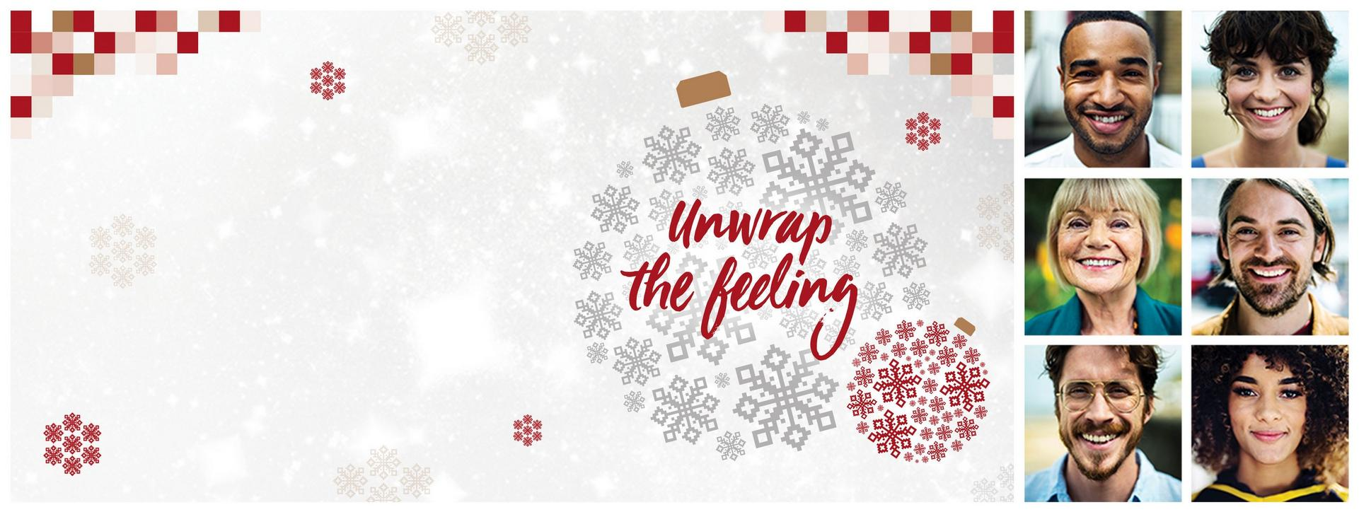 Christmas Page - Unwrap The Feeling