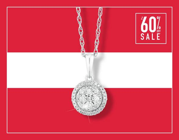 Up To 60% Off Diamond Jewellery - Shop Now