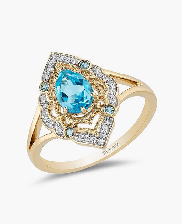 Enchanted Disney Diamond Ring Inspired By Disney Aladdin