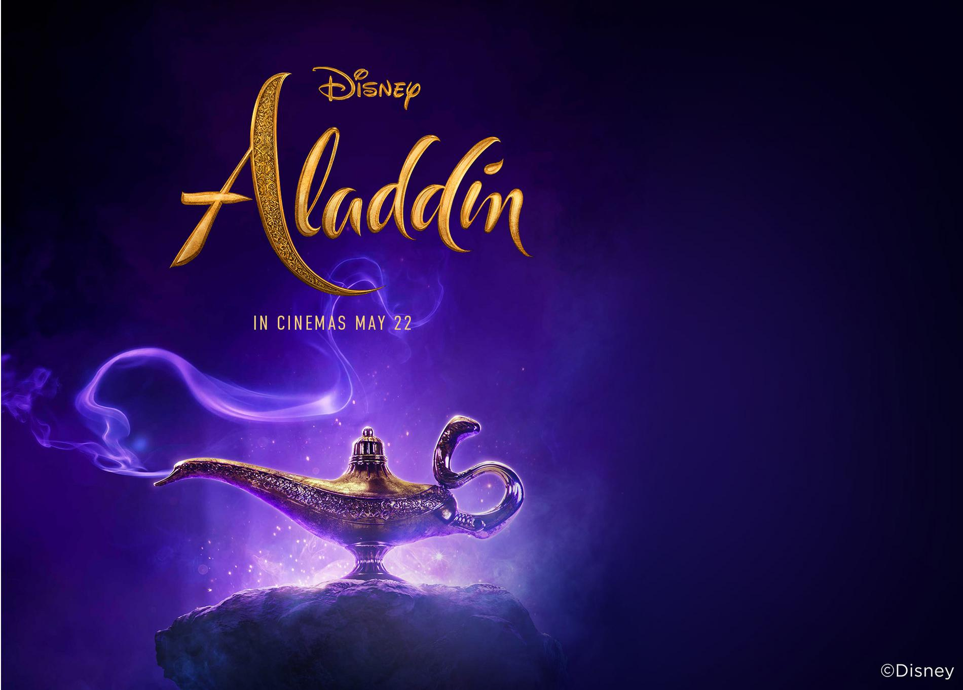 Disney's Aladdin Movie Poster