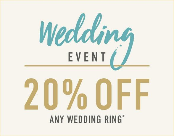 Wedding Event - 20% Off Any Wedding Ring - Shop Now