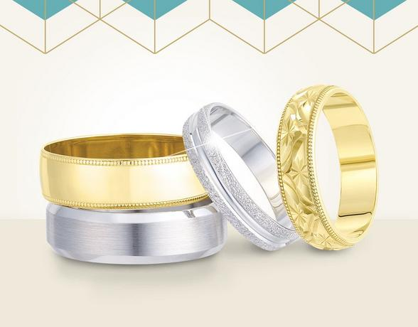 Detailed Wedding Rings - Shop Now