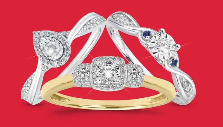 Under £500 Engagement Rings - Shop Now