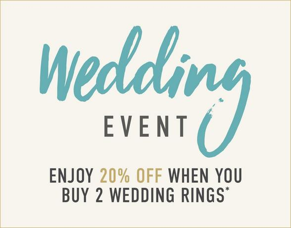 20% Off When You Buy 2 Wedding Rings - Shop Now