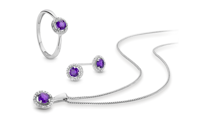 February Birthstone - Amethyst - Shop Now