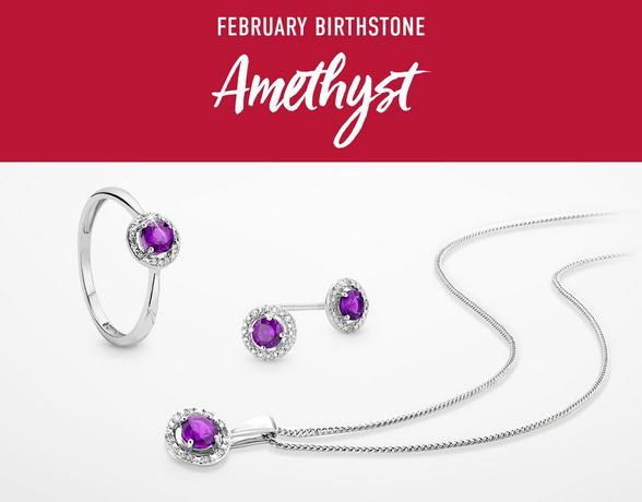 Birthstone Of The Month - Amethyst - Shop Now