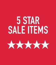 5 Star Sale Items - Shop Now