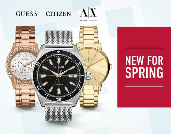 New For Spring Watches - Shop Now