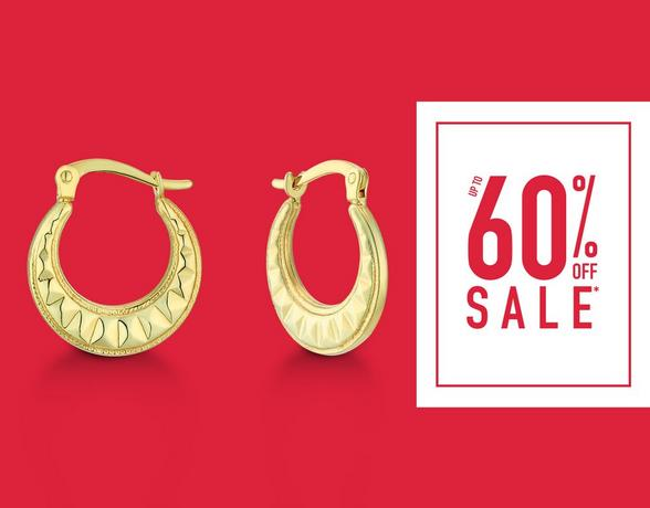 Up To 60% Off Jewellery - Shop Now