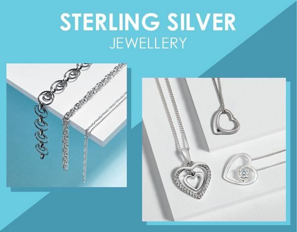 Sterling Silver Jewellery - Shop Now