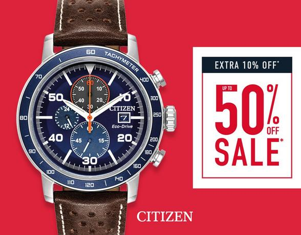Up To 50% Off Watches - Extra 10% Off - Shop Now