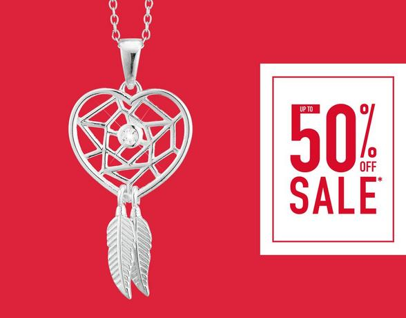 Up To 50% Off Jewellery - Shop Now