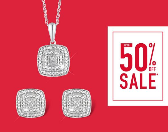 Up to 50% Off Diamonds - Shop Now