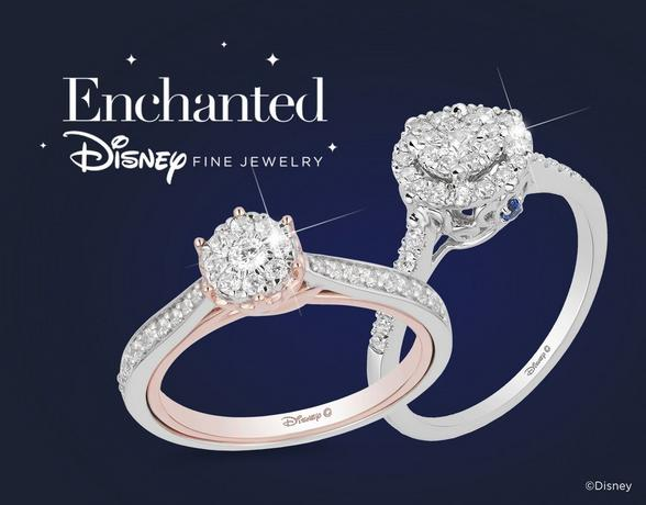 Enchanted Disney Fine Jewelry Engagement Rings - Shop Now