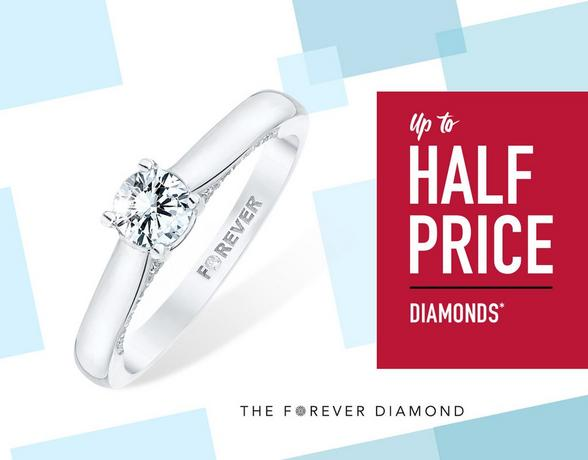 Up To Half Price Diamonds - Shop Now