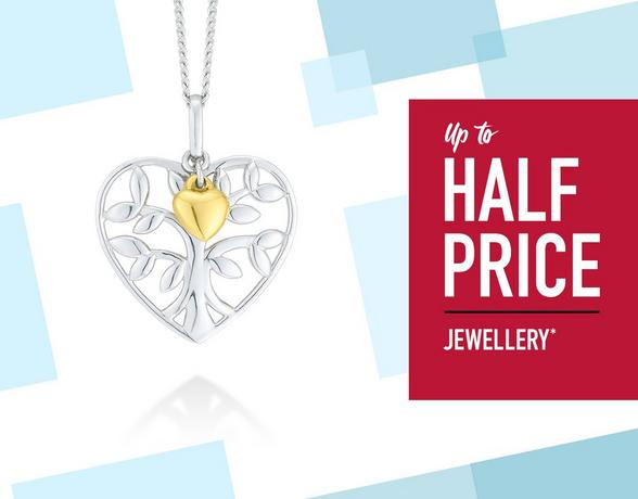 Up To Half Price Jewellery - Shop Now