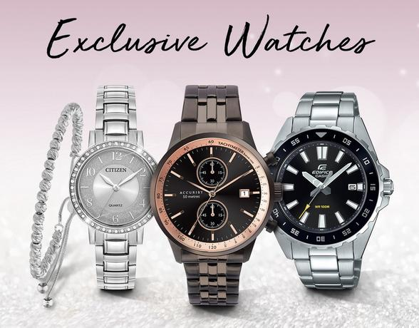 Exclusive Watches - Shop Now