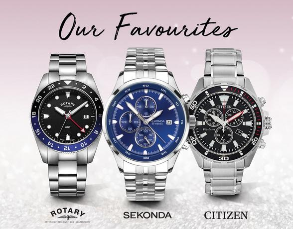 Our Favourite Watches - Shop Now