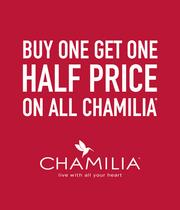 Buy One Get One Half Price On All Chamilia - Shop Now