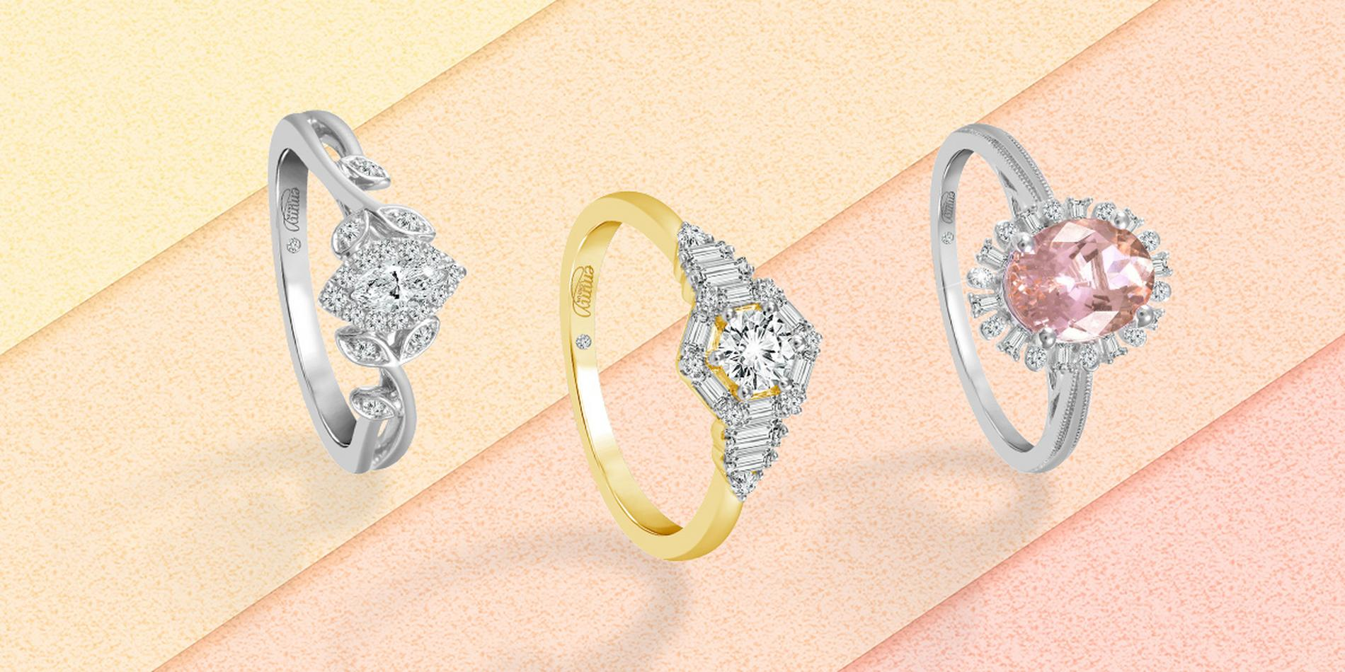 How to choose a unique engagement ring