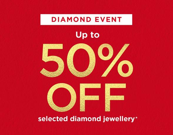 diamond event up to 50% off