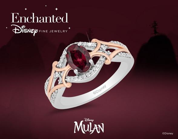 Enchanted Disney Fine Jewellery Mulan - Shop Now