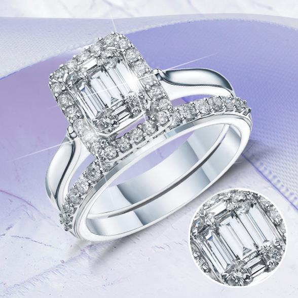 Bridal Set Engagement Ring
