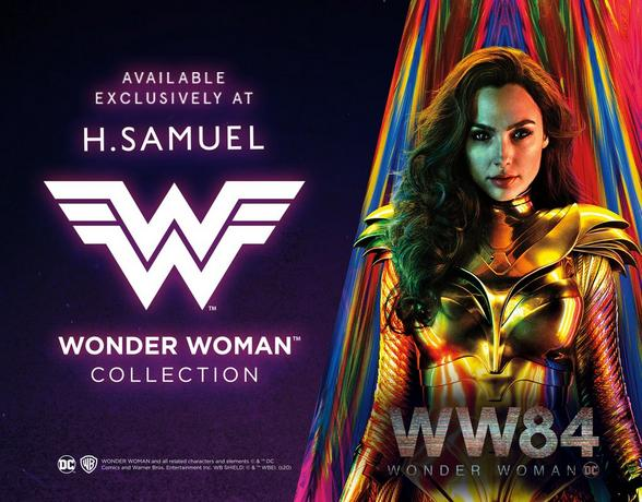wonder woman jewellery collection