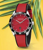 The Red Watch Trend - Shop Now