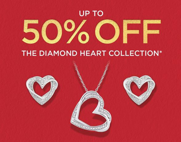 the diamond heart collection