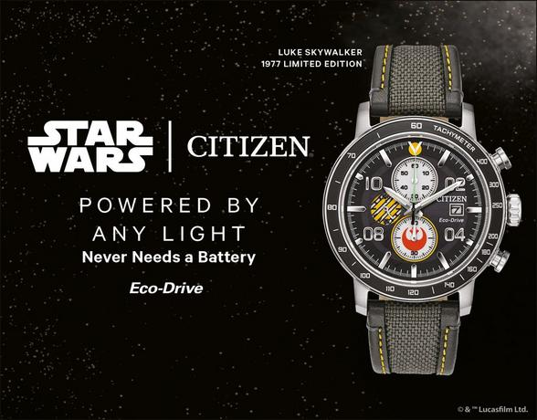 Citizen Star Wars Watches - Shop Now