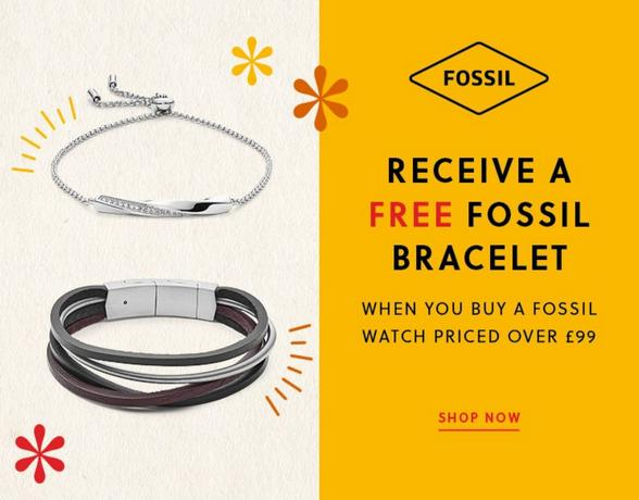 Fossil Free Bracelet - Shop Now