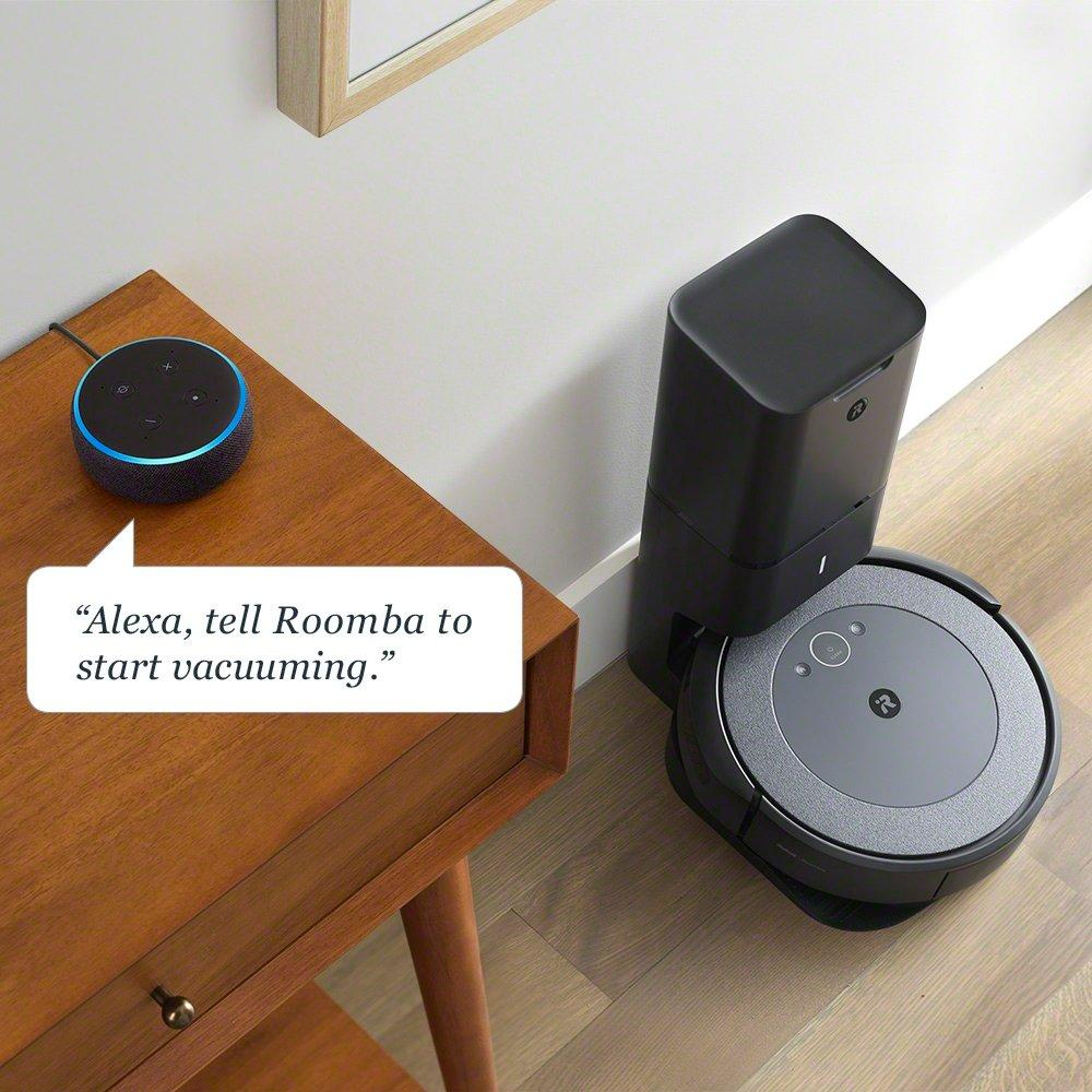 Image of Roomba i3+ with Alex Command