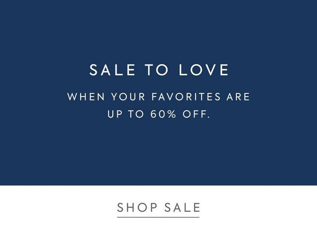 Shop Up to 60% Off Sale