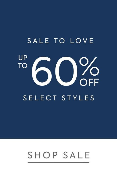 Sale Up To 60% Off Select Styles