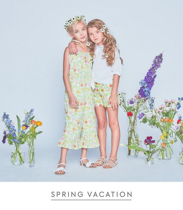 Shop New Spring Vacation collection for Girls
