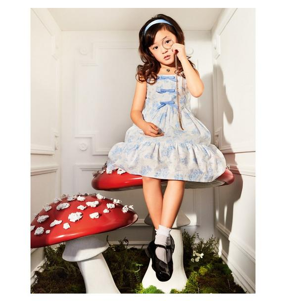 Disney Alice in Wonderland Toile Dress