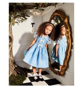 Disney Alice in Wonderland Organza Bow Dress