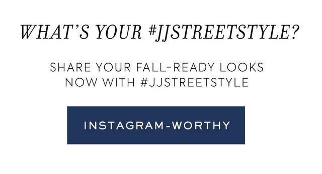 What's your #JJSTREETSTYLE