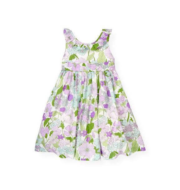Ruffle Petunia Floral Dress