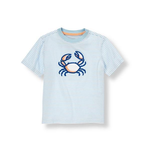 Crab Stripe Tee
