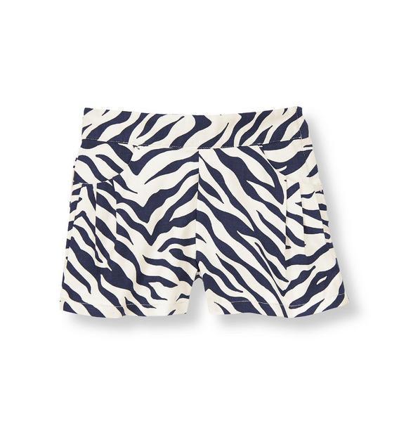 Zebra Dobby Short
