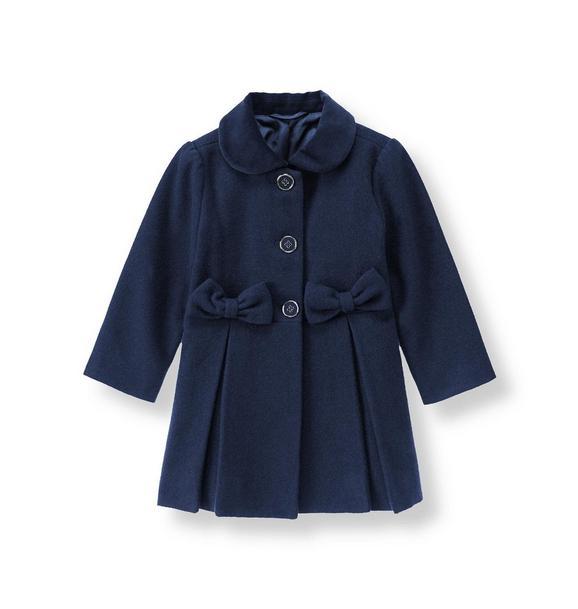 Bow Felt Coat
