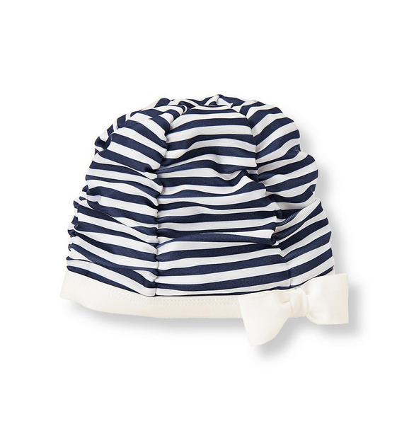 Striped Swim Cap
