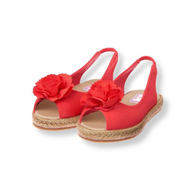 ad192abf10f638 Accessories Coral Blossom Espadrille Sandal by Janie and Jack