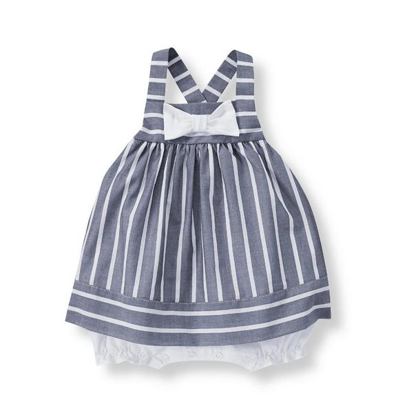 Skirted Bow One Piece
