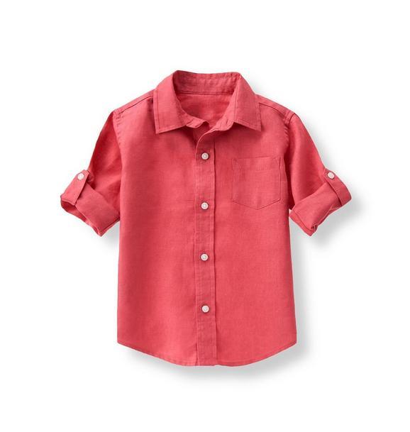Roll Cuff Linen Shirt